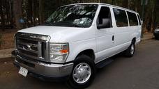 Ford Econoline 2012, 15 Pasajeros, Aut. Clima, Mp3, Aux. Cd