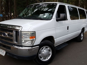 Ford Econoline 2009, 15 Pasajeros, Aut. Clima, Mp3, Aux. Cd