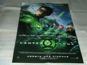 Poster Duplo Do Filme: Lanterna Verde C/ Ryan Reinolds