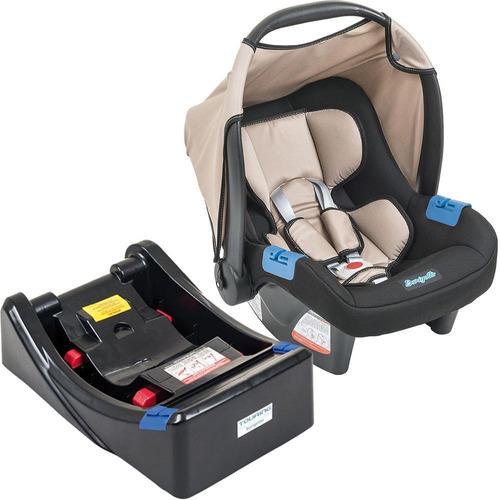 Ixau3044pr02 Bebê Conforto Touring Evolution Se Bege + Base