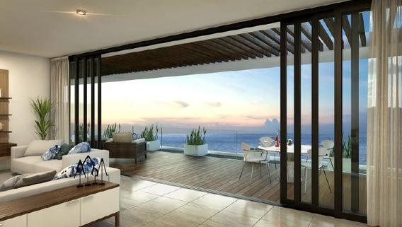 Pent House En Venta Con Vista Al Mar, Ubicado En Lujosa Zona De Cancún, Mod. S-ph1 Allure