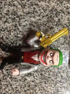 Joker Guason Figura Colección Metal Diecast Original 4 Pulg