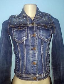 Jaqueta Jeans Com Elastano Spike Versani P