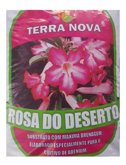 3kg Substrato Rosa Do Deserto Casca De Pinus Vermiculita Etc