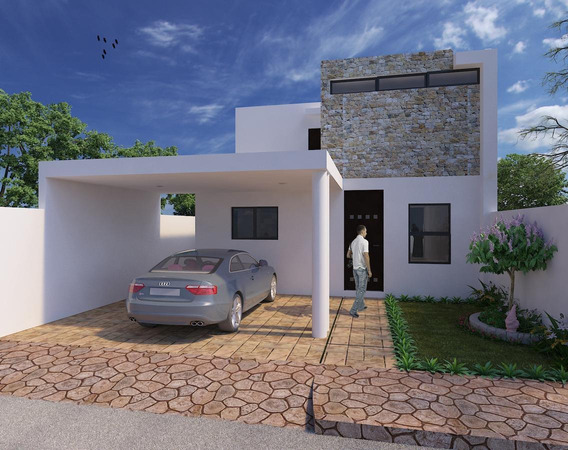 Casa En Venta,privada Botánico Con 3 Rec Y Piscina,conkal,mérida,yucatán