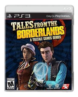 Tales From The Borderlands Ps3 Juego Original Fisico Sellado