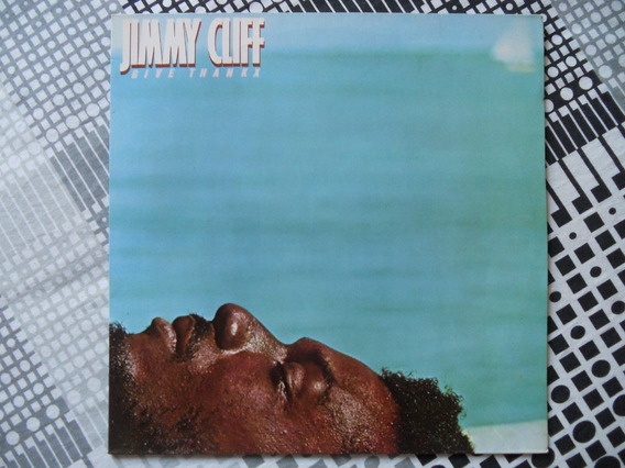 Jimmy Cliff - Give Thankx - Lp - 1978 Nacional