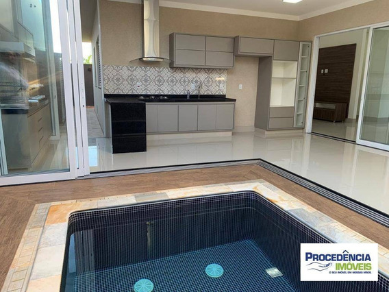 Casa Com 3 Dormitórios À Venda, 210 M² Por R$ 950.000 - Gaivota Ii - São José Do Rio Preto/sp - Ca2396