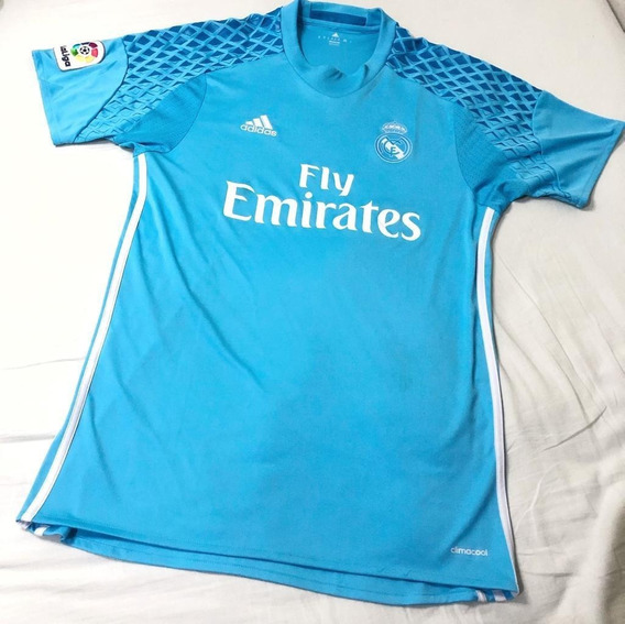 Camisa Original Real Madrid Goleiro Temporada 2016/2017