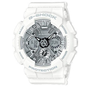 Relógio Casio G-shock Ana-digi Branco Gma-s120mf-7a1dr