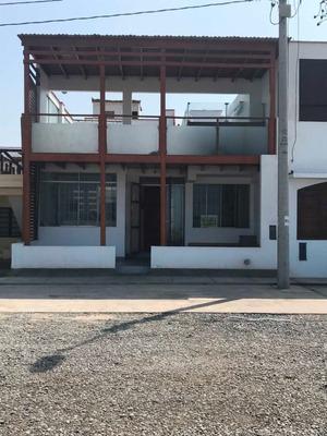 Alquiler Casa Playa Los Lobos -cañete -1era Fila-bajo Precio