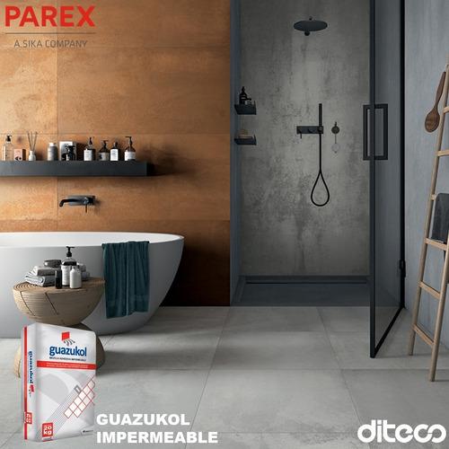 Imagen 1 de 4 de Guazukol Adhesivo Cerámico Ipermeable 20kg