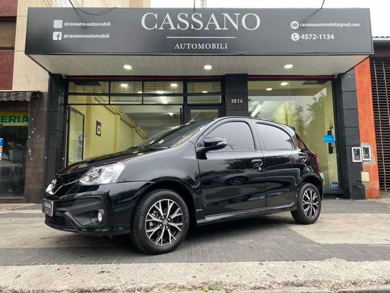 Toyota Etios 2018 1.5 Platinum At 5p Cassano Automobili
