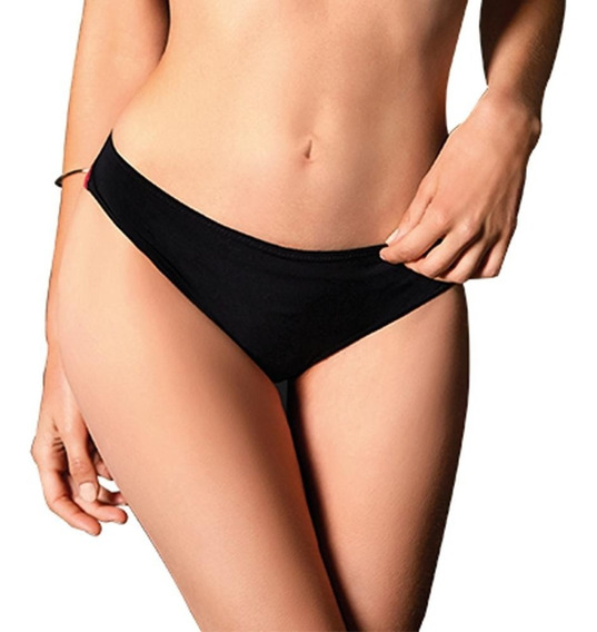 Chikini Sexy Modelo Vicky Form 0010028kh Color Negro-fresa
