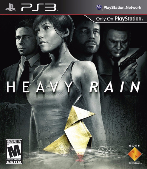 Jogo Heavy Rain Ps3 Playstation 3 Original Game Mídia Física