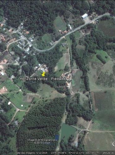Terreno Venda Horizonte Verde - Piedade - Sp. - 04979-1