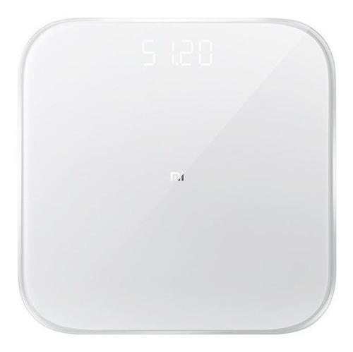 Imagen 1 de 3 de Báscula digital Xiaomi Mi Smart Scale 2 blanca, hasta 150 kg