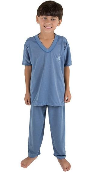 Kit 2 Pijama Infantil Masculino | Roupas De Menino-atacado