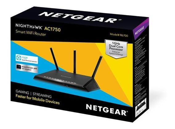 Router Netgear R6700 Nighthawk Ac1750 Smart Wifi