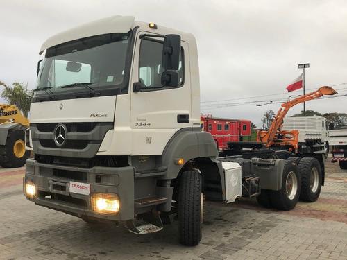 Mb Axor 3344 S 2016  6x4 Canavieiro Scania Mercedes Volvo