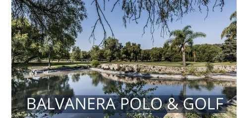 Preventa De Terrenos En Balvanera Polo & Country Club