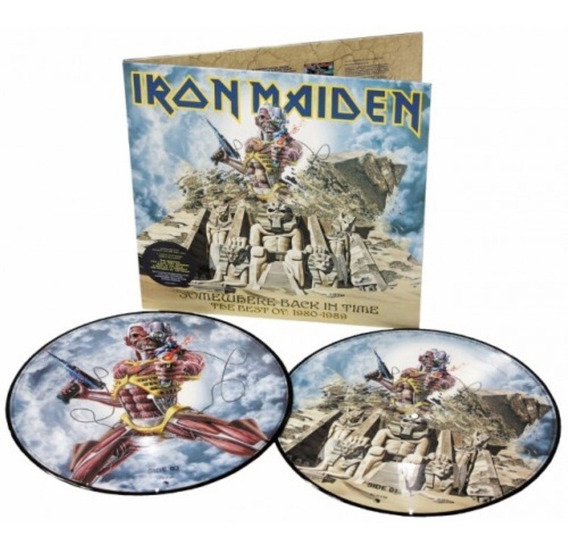 Iron Maiden - Somewhere Back In Time Lp Picture Vinil Import