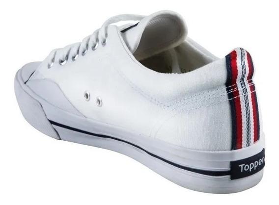 Zapatillas Topper Tenis Bcas Precio X 2 Pares