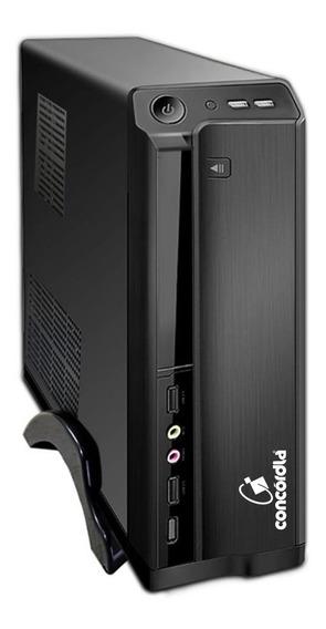 Computador Sff Concórdia Processador Core I5 4gb Ssd 240gb