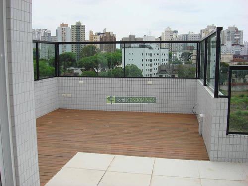 Cobertura Com 3 Dormitórios À Venda, 212 M² Por R$ 1.099.000,00 - Água Verde - Curitiba/pr - Co0013