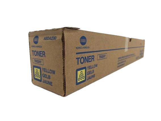 Toner Minolta Tn-324 Bh C258 C308 C368 Yellow **original**