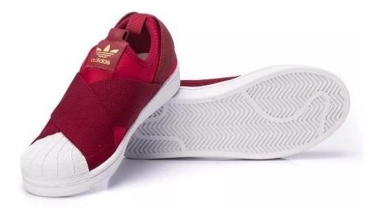 Tênis adidas Slip On Confortável Unissex Promoção Do Mês