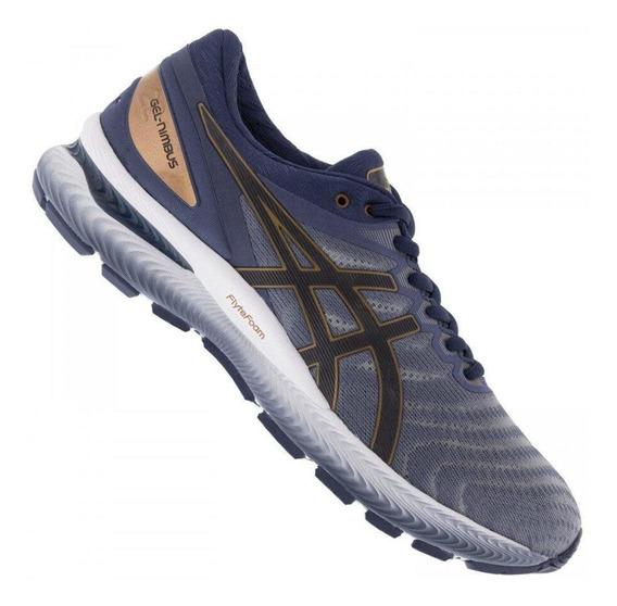 Tênis Running Asics Masculino Gel Nimbus 22 1011a680 Azul
