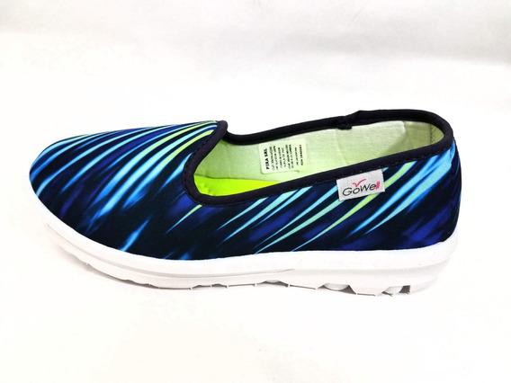 Zapatillas De Señora Multicolor