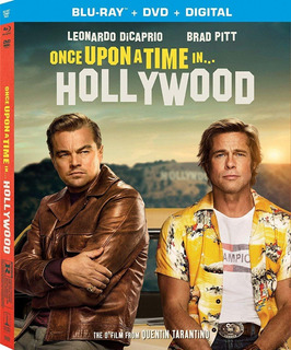 Once Upon A Time In Hollywood Blu-ray + Dvd Import Nuevo