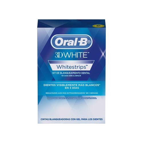Cintas blanqueadoras Oral-B 3D White Whitestrips en caja 14u