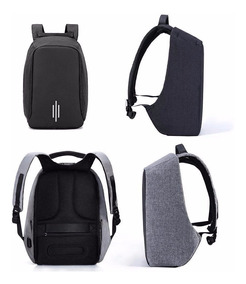 Mochila Anti-furto Compartimento P/laptop Saida Usb Notebook