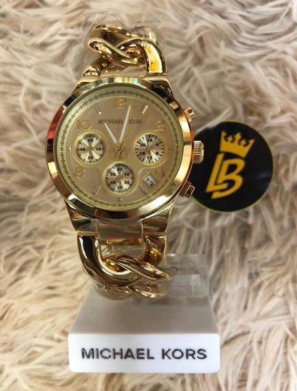Relógio Mk3131 Original, Caixa, Manual, Certificado Garantia