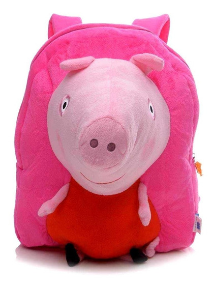 Mochila De Costas Infantil Pelúcia 3d Peppa Pig - Xeryus