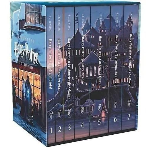 Livro Box Harry Potter - J.k. Rowling- Coleção Completa