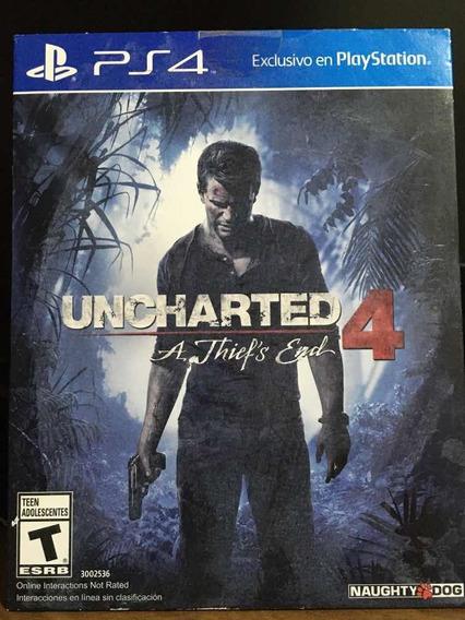 Uncharted 4 Ps4 (capa Dura)