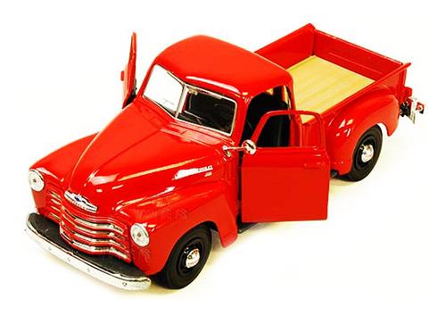 Chevy 3100 Pickup Truck 1950 Roja Maisto Original 1:24 St
