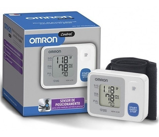 Aparelho Medidor Monitor Pressão Digital Pulso Hem6124 Omron
