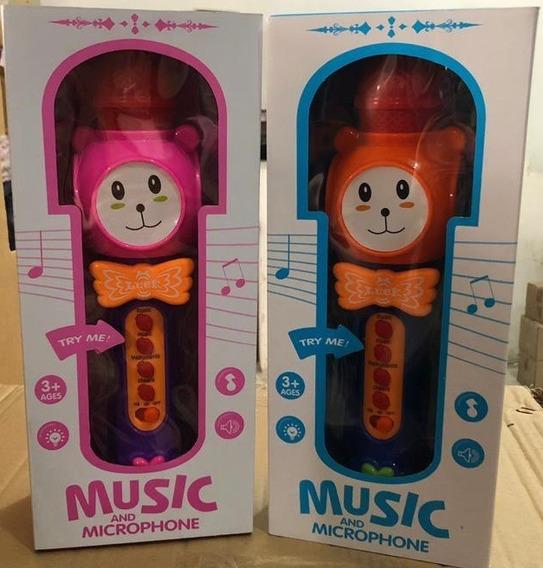 Microfono Musical Ref 166