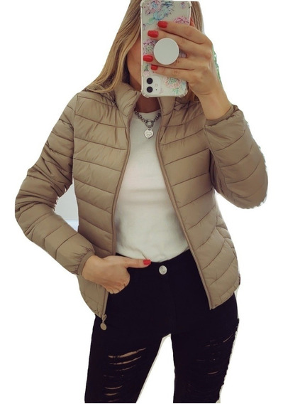 Campera Mujer Invierno Abrigada Peluche Piel Corderito Abrigo Dama Importada Talles Colores