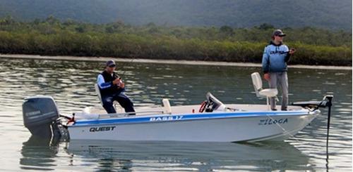 Barco Bass 17 Com Motor 90 Hp