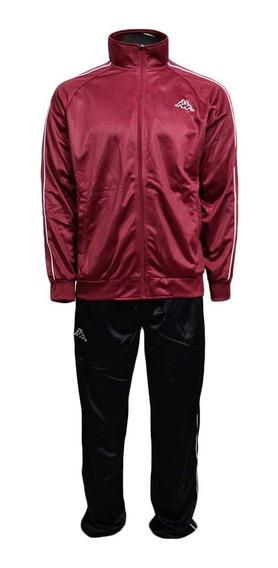 Agasalho Kappa Sportswear Farnese Elanca Jaqueta+ Calça C/nf