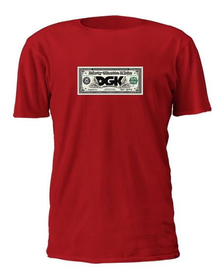Camiseta Masculino Dgk Dola Diamond Skate Grizzly Algodão