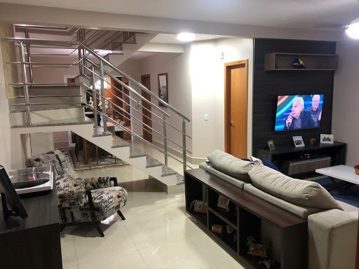 Casa Tipo Sobrado No Condomínio Solar Das Torres Com 4 Dormitórios À Venda, 158 M² Por R$ 650.000 - Santa Cruz Ii - Cuiabá/mt - So0185
