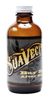 After Shave Suavecito Pomade 4oz Aroma Bay Rum Barberias