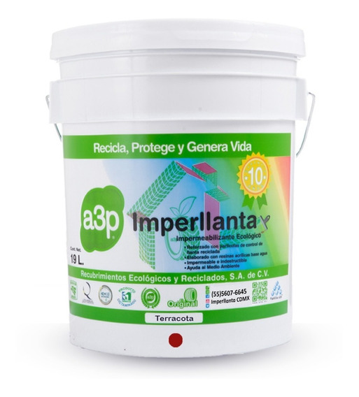 Impermeabilizante De Llanta Imperllanta A3p 10 Años Colores